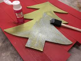 Sparkle Wall Decor Diy Christmas Wall Decor Idea Light Up Tree Anika U0027s Diy Life