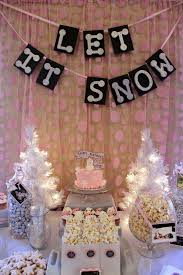 Winter Party Decor - best 25 sweet 16 party ideas for girls winter ideas on pinterest