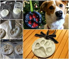 how to make a paw print ornament pictures photos and