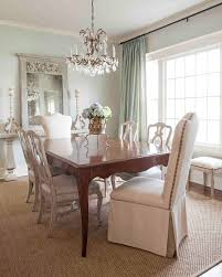 modern window casing dining room shabby chic dining chairs with sisal carpet and