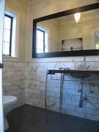 half bathroom tile ideas small half bath layout ways to make a half bath feel whole with