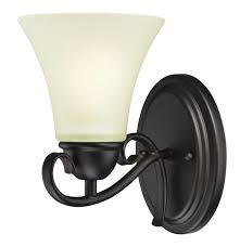 Westinghouse Lighting Fixtures Westinghouse Dunmore One Light Indoor Wall Fixture Rubbed