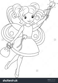 fairy house coloring pages funycoloring