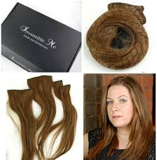 remy clip in hair extensions irresistible me royal remy clip in hair extensions in light brown