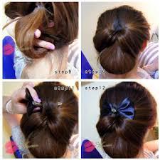 tutorial rambut wanita cara mengikat rambut panjang ala korea yang cantik nan tak natural