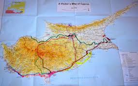 Map Of Cyprus Republic Of Cyprus Carolyn U0027s Travel Stories