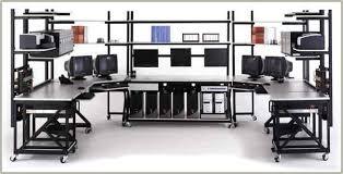 Computer Repair Bench Labs Lan Workstations Server Rack Shelving