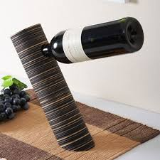 gravity wine holder the green