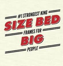 strongest king size bed frames for large couples u2013 such a thing