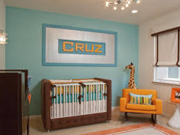 Orange Nursery Decor by Awesome White And Blue Nursery Blue Walls That Can Be Decor