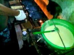 cara membuat es krim wafer pembuatan sugar cone gustaaf ice cream training center youtube