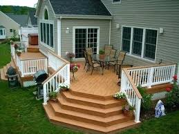how to build wrap around deck stairs google search craftsman wrap
