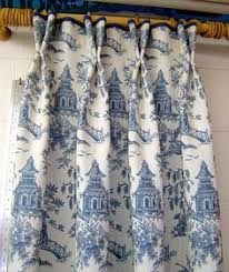 Blue Toile Curtains I Toile Prints And Ticking And These A Soft Texture