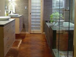 bathroom flooring simple best type of flooring for bathrooms