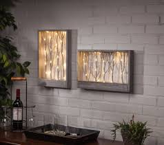 lighted pictures wall decor lighted branch wall table decor this lighted wall art adds the