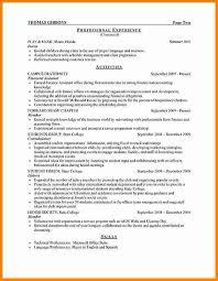 College Internship Resume Sample by 8 Internship Resume Template Budget Template