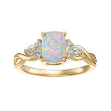 Jcpenney Wedding Rings by Opal Rings Closeouts For Clearance Jcpenney