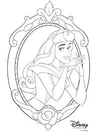 disney princesses coloring pages sleeping beauty coloringstar