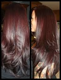 coke blowout hairstyle burgundy haircolor i did redhaircolor burgundyhaircolor