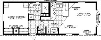 1 bedroom trailer 1 bedroom mobile homes floor plans home plans ideas