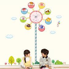 ferris wheel wall clock stickers stickers nursery wall stickers