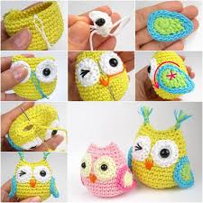 diy crochet baby owl ornaments baby owl owl ornament and diy