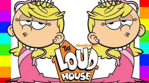 coloring lola loud the loud house nickelodeon coloring pages for