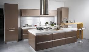 sleek kitchen designs with a beautiful simplicity modern