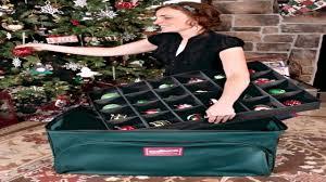 diy christmas ornament storage ideas youtube