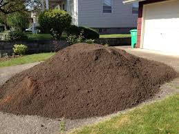 How Many Tons Per Cubic Yard Of Gravel Mr Mulch Landscape Supply Store Premium Blend Bulk Topsoil Mr