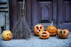 halloween monsters background 3 easy ways to decorate your front door this halloween today com