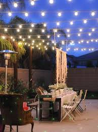 How To Hang Patio Lights Outside String Hanging Light With How To Plan And Hang Patio
