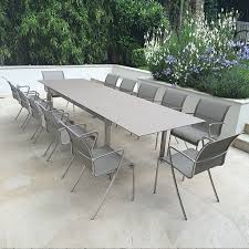 modern outdoor table and chairs modern garden table taboela royal botania modern garden furniture