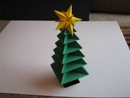 pleasing christmas tree origami http www ikuzoorigami com