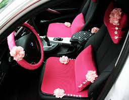 expensive pink cars seat covers for girls carsoda