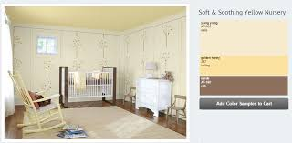 baby u0027s nursery in creamy yellow and neutrals interiors by color