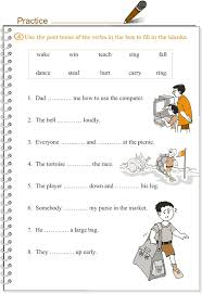 ideas collection simple past tense worksheets for grade 1 in