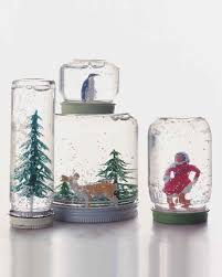 How To Make Decorative Balls How To Make A Snow Globe Martha Stewart