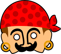 kids pirate mask clipart free stock photo public domain pictures