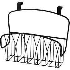 Over The Cabinet Door Basket by Spectrum Diversified Designs Twist Over The Cabinet Door Basket