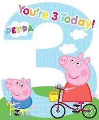 peppa pig birthday peppa pig you re 3 today large 3rd birthday card george new gift