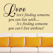vinyl wall art decal decor love quote stickers love isn u0027t finding