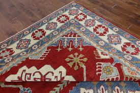 Wool Area Rugs Mesa Collection Knotted Kazak 9x12 Wool