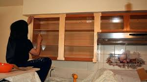 redone kitchen cabinets refinishing kitchen cabinets stain or paint refacing cost estimate