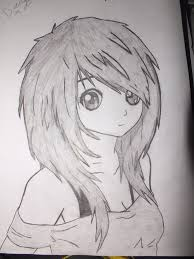beautiful anime sketches fairy anime drawings in pencil 1000