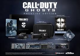 call of duty ghosts hardened and prestige editions seemingly