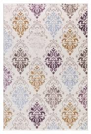 Damask Rugs Ivory Purple Damask Rug Transitional Design Cheap Area Rugs