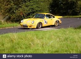 porsche 911 rally car classic rally cars on stage during the rally britannia porsche
