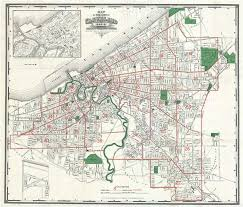 map of cleveland map of the city of cleveland for 1890 91 geographicus