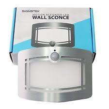 Exterior Motion Sensor Light Led Motion Sensor Lights Ebay